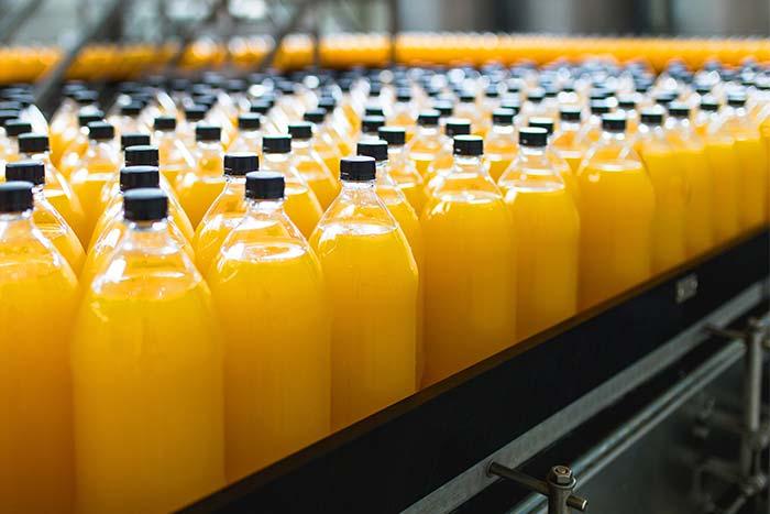 conservación y envasado de jugos Coca-Cola