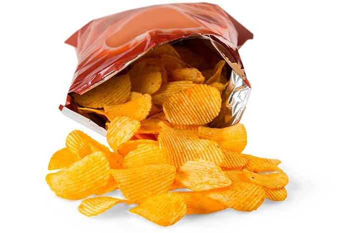 evitar la rancidez de papas fritas