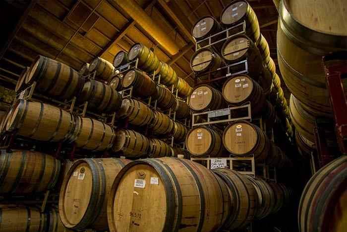 conservación de vino