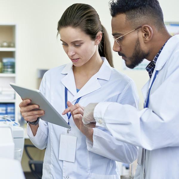 investigación en laboratorios