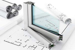 aislamiento de ventanas en la industria de la construcción, estructura y montaje