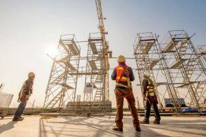 Construcción, estructura y monta, y su relación con los gases industriales