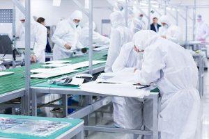 fabrica de electrónica que utiliza gases de Criogas