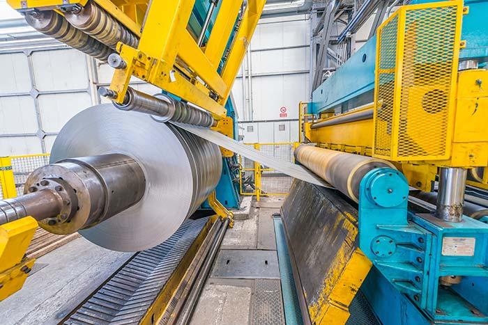 transformación de acero en la industria metalmecánica