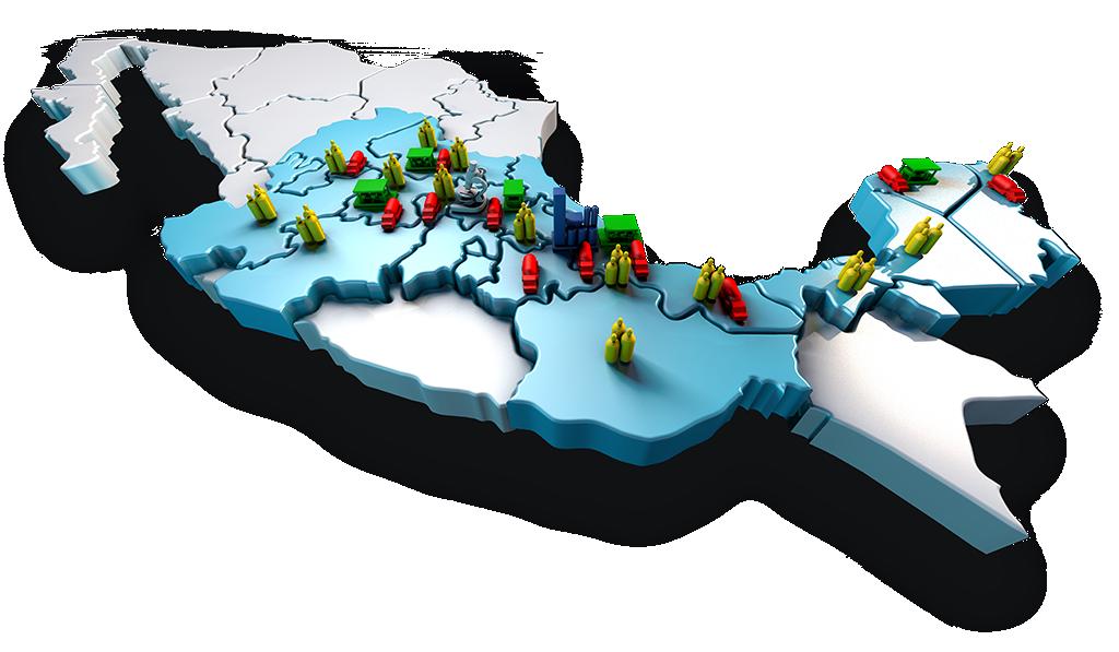 Mapa Criogas México